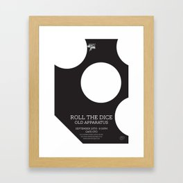 Roll The Dice Framed Art Print