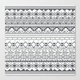 Aztec pattern 004 Canvas Print