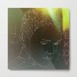 Chekov Minimalistic AOS Fanart Metal Print