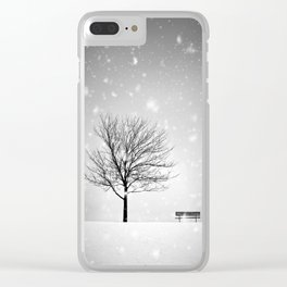 Winter Park Clear iPhone Case