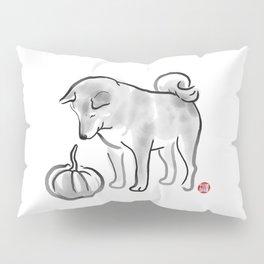 My Pumpkin, My Shiba Pillow Sham