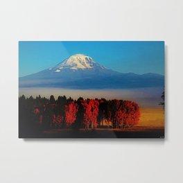 Cascade Mountains Autumn Foliage Landscape by Jeanpaul Ferro Metal Print