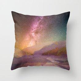 Universo! Throw Pillow