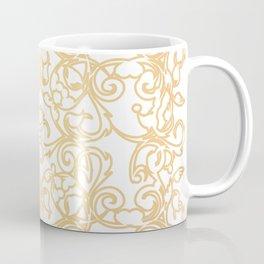 Gold Filigree Coffee Mug