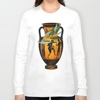 greek Long Sleeve T-shirts featuring Ancient Greek by Fifikoussout