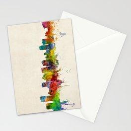 Phoenix Arizona Skyline Cityscape Stationery Cards