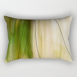 Forest, Water, Lines Rectangular Pillow