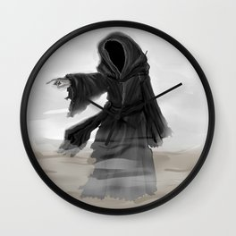 Ghost of Christmas Yet to Come Wall Clock