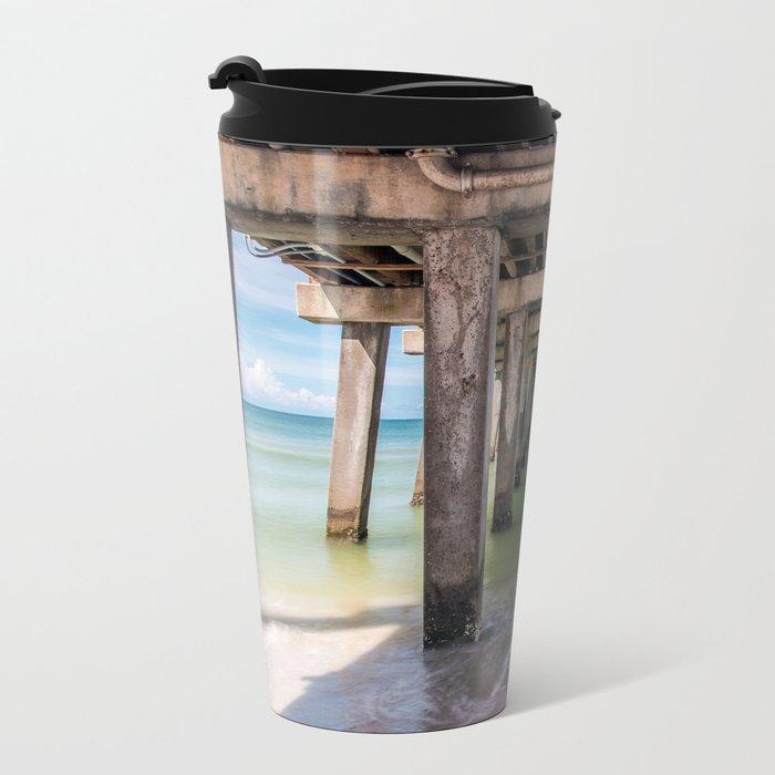 Summer Vacation Metal Travel Mug