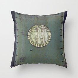 Deutsche Reichsbahn Throw Pillow