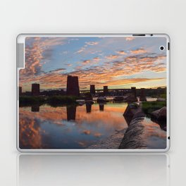 Panoramic River Sunset Laptop & iPad Skin