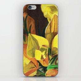 Golden Gorse Flowers iPhone Skin