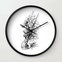 Vicentije Water Dragon Wall Clock