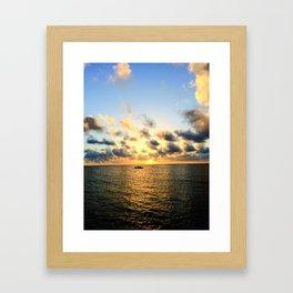 Endless Sea Framed Art Print
