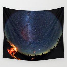 1767. Perseid Meteor Shower Wall Tapestry