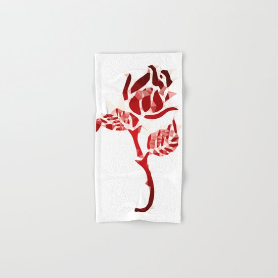 Rose Hand & Bath Towel