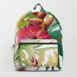 Tropical Floral Pattern 05 Backpack