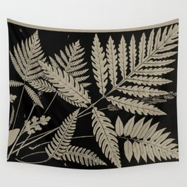 New England Ferns Wall Tapestry