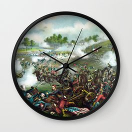 Battle Of Bull Run -- Civil War Wall Clock