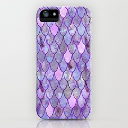 Mermaid Lilac iPhone Case