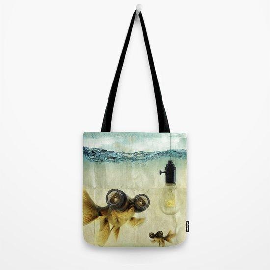 Fish Eyed Lens 03 Tote Bag