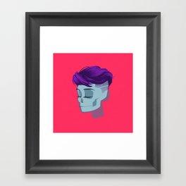 see through girl 2 Framed Art Print