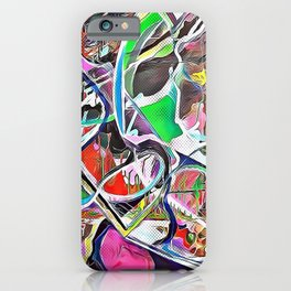 Colorful Abstract 2 iPhone Case