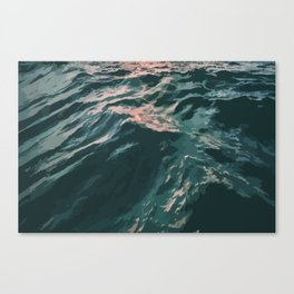 Summer Waves Canvas Print