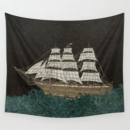 Tall Ship Wall Tapestry