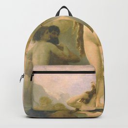 Birth of Venus by William Bouguereau Backpack