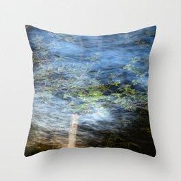 Speedy Trees 3 Throw Pillow