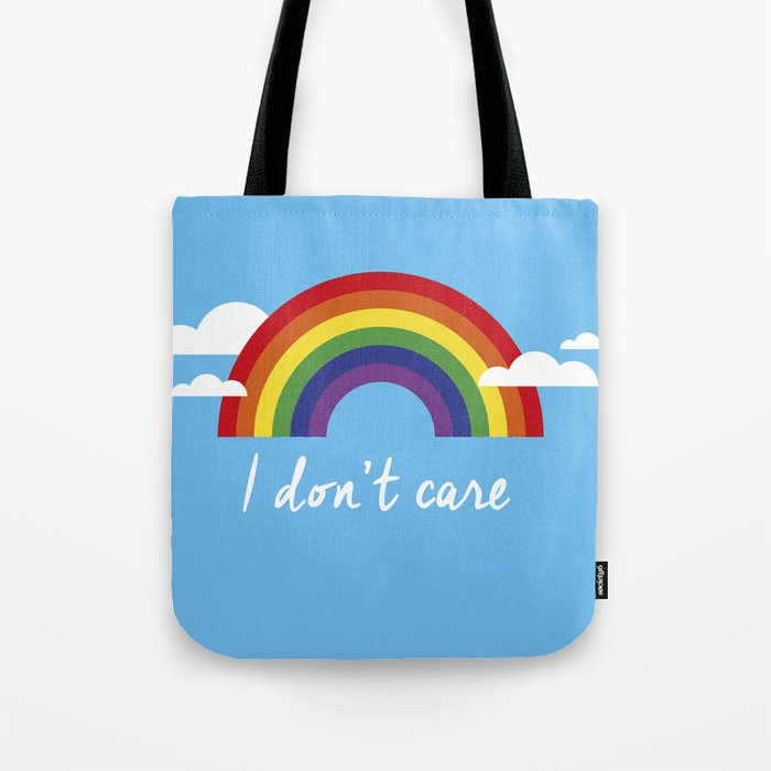 I dont care Tote Bag
