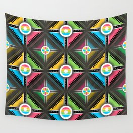 Decorative Abstract Modern Pattern Wall Tapestry