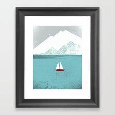 Dawn Treader Framed Art Print