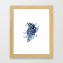 One Little Bird Framed Art Print