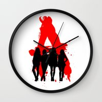 pretty little liars Wall Clocks featuring A's Liars by Lindsay6Link