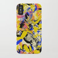 fight iPhone & iPod Cases featuring Fight by Larionov Aleksey