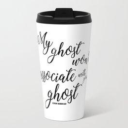 ghost (six of crows) Travel Mug