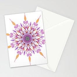 hand drawn original mandala art Stationery Cards