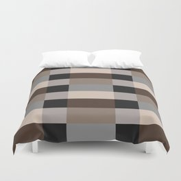 IKEA STOCKHOLM Rug Pattern - chequered, brown Duvet Cover