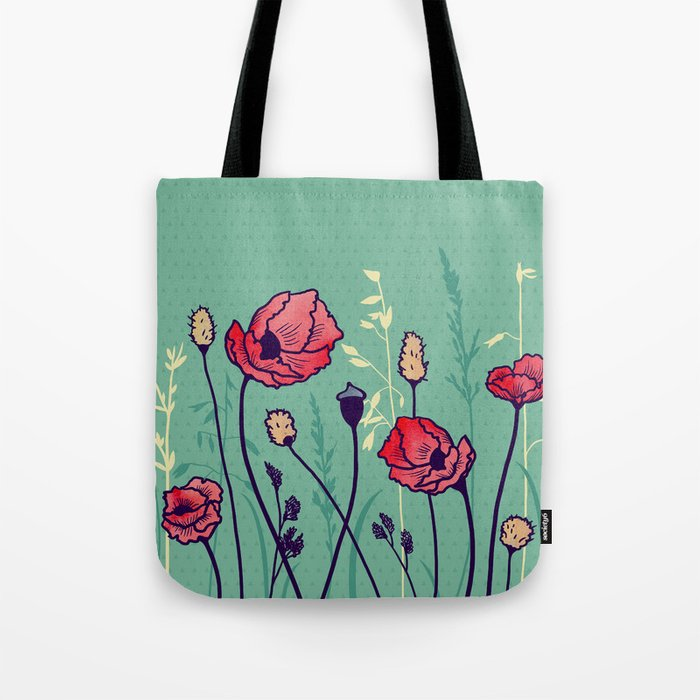Summer Field Tote Bag