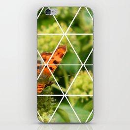 Butterfly Geometric iPhone Skin