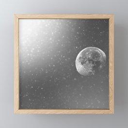Dandelion Moon Framed Mini Art Print