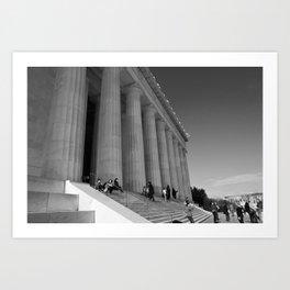 Lincoln Memorial III Art Print