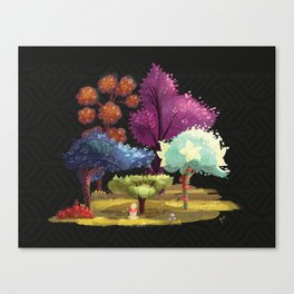 Robin Hood! The Forest. Canvas Print