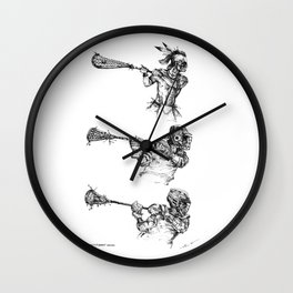 The Perfect Form-Series (The Art of Lax™) Wall Clock