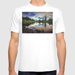 Mountain Reflections Mt Rainier Washington T-shirt