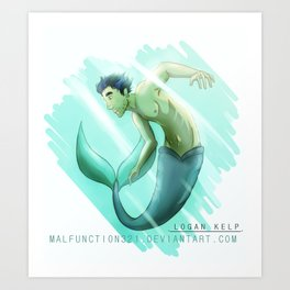 Guardian of the Sea Art Print