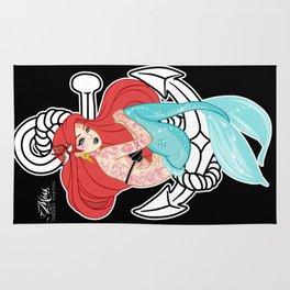 Tattooed Siren Rug