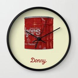 The Lebowski Series: Donny Wall Clock